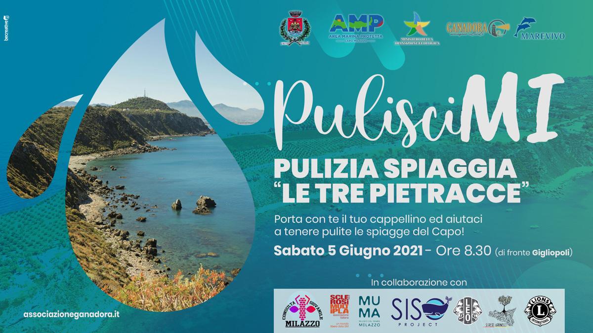 """PulisciMI - Pulizia Spiaggia """"Le Tre Pietracce"""""""